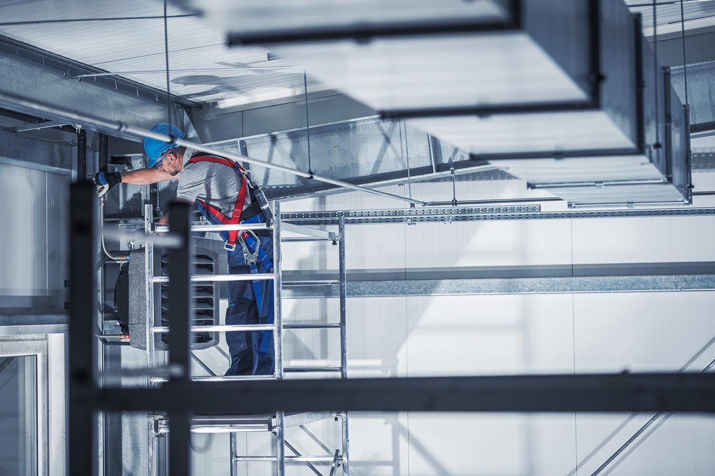 servicio aire acondicionado industrial